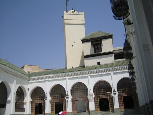 El barrio y mezquita de los andaluces, en Fès