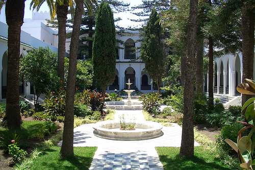 Palacio Instituciones Italianas, joya de Tánger