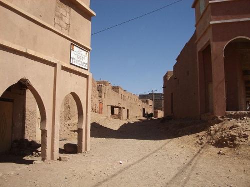 Las históricas calles de Tamegroute