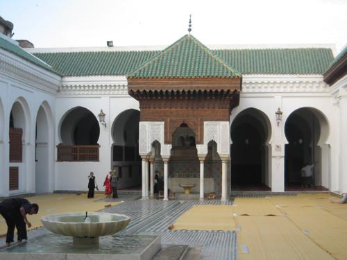 La Universidad de Al Quaraouiyine, en Fès