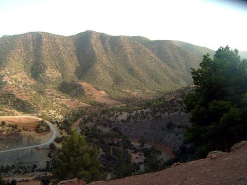 El Valle de Ahansal, en el Alto Atlas