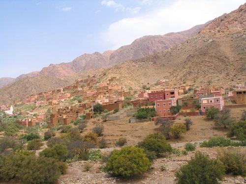 Paisajes rojizos en Tafraout