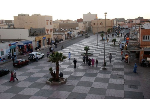 Calles de Dakhla