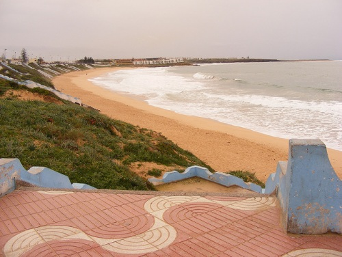 Las auténticas playas de Sidi Bouzid