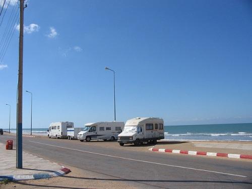 Caravanas en Foum el Oued