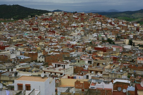 Ouezzane y su arquitectura andaluza