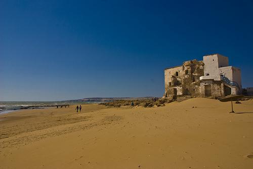 La playa de Sidi Kaouiki