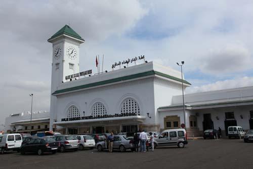 La estación de tren Casablanca Voyageurs