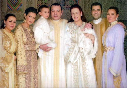 La Familia Real de Marruecos